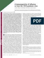 Dr. Taubenberger - Pathogenicity and immunogenicity of influenza