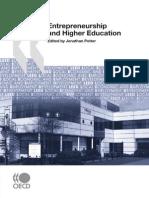 Entrepreneurship in Higher Education - Book