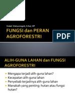 Fungsi Dan Peran Agroforestri