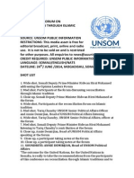 UNSOM hosts Opinion Leaders Forum