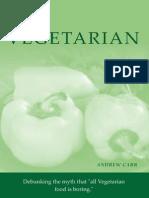 The Vegetarian Cookbook - Carr, Andrew