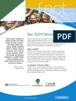 Ban Female Genital Mutilation Worldwide