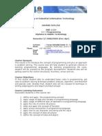 IWD 1124 - C++ Programming 2-2008-2009 - Mr Su