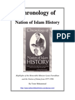 Chronology of NOI History