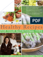 Healthy Recipes for Your Nutritional Type
