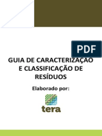 Guia de Caracterização e Classificação de Resíduos
