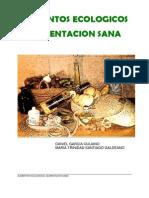 Alimentos Ecologicos, Alimentacion Sana.
