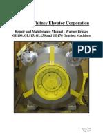 BULL 1159 GL100 GL170 Machines Warner Brakes Repair and Maintenance Manual