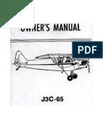 POH - Cub J3