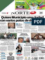 Periódico Norte edición del día miércoles 25 de junio de 2014