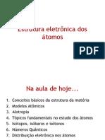 11. Estrutura Eletrônica Dos Átomos