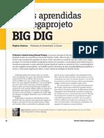 Ed 36-10-2010 - Licoes Aprendidas Projeto BIG DIG