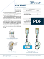 Powersoft TN001 RJ45WiringRS485 en v1.1 (1)
