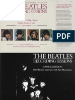 The Beatles Recording Sessions