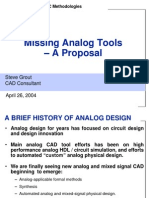 Analog Tools Needed 40426