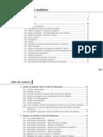 Sommaire Calcul des surfaces réglementaires