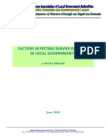 Factors Affecting Service Delivery in Local Governments-2