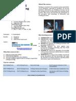 Welding Engineering Brochure