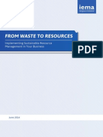From Waste to Resources Full Report