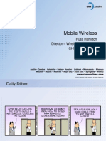 Mobile Wireless Evolution