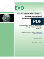 IPMVP Concepts and Options for Determining Energy and Water Savings V1 2012