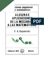 Algunas Aplicaciones de La Mecanica a Las Matematicas-V. Uspenski