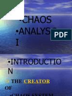 FX Chaos Analyzis