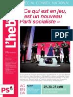 L'Hebdo des socialistes n°738