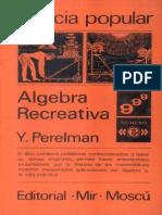 Algebra-Recreativa Y. Perelman