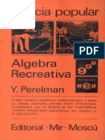 Algebra-Recreativa Y. Perelman