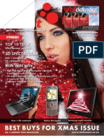 TechSmart 75, December 2009, The Best Buys for Xmas Issue.