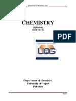 Chemistry Syllabus (Bs)