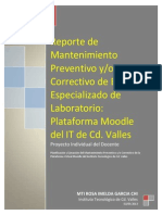 Reporte Final Mantenimiento Moodle ENE-JUN 2013