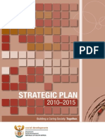 DSD Strategic Plan 2010 - 2015