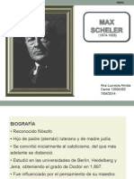 Max Scheler Presentacion
