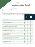 TPG Test de Psicodiagnóstico Gestalt FORMATO