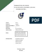 Trabajo Investigativo, Informe Ec Oscilacion, Opeacion Sep, 2 Parcial