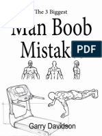 Biggest Man Boob Mistakes