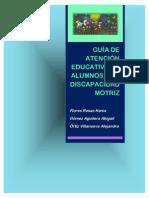 Guía de Atención Educativa de Alumnos Con Discapacidad Motriz