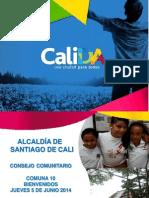 Presentación Consejo Comunitario C10 Junio 5-2014