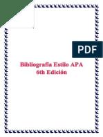 Estilo APA 6 Ejemplos