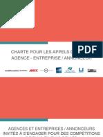 Charte des Appels d'offres - Présentation générale