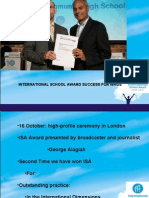 JGH s Presentation ISA and TocH Nov 2009