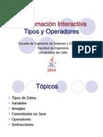 4.Tipos y Operadores