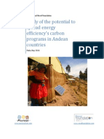 Potencialidad de La Zona Andina Para Acceder Al Mercado de Carbono Completo