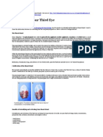 Detoxifying Your Third Eye-Pineal Gland
