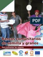 Bancos comunitarios de semilla y granos para enfrentar las sequías