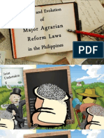 Agrarian Reform History from Pres. Quezon to Pres. Macapagal