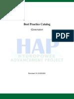 Best Practice Catalog Generator
