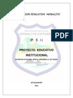 Pei Institucion Educativa Moralito Version 2014